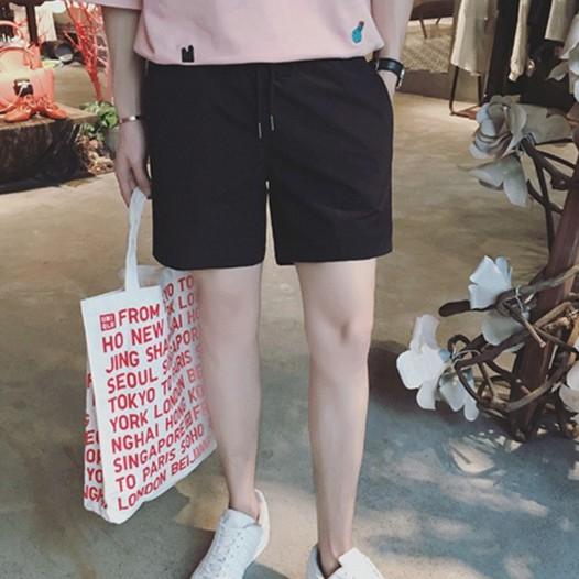 夏款舒適男短褲多色速乾沙灘褲運動休閑短褲【逆主流】