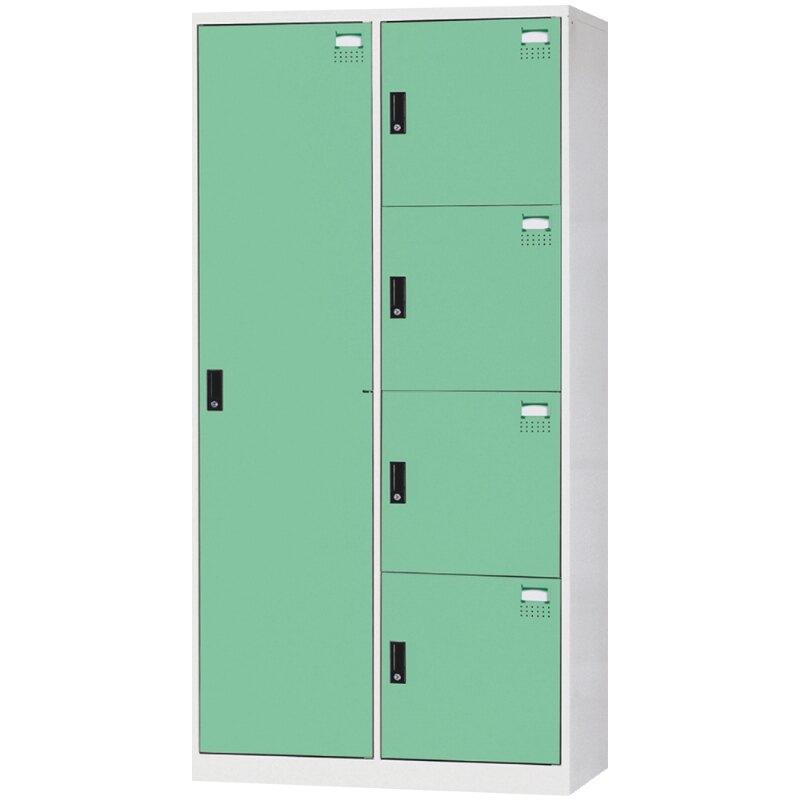 西瓜籽 大富 HDF-2514B 全鋼製門淺綠色多用途鑰匙櫃置物櫃/衣櫃 辦公用品 收納櫃 書櫃 衣櫃 櫃子
