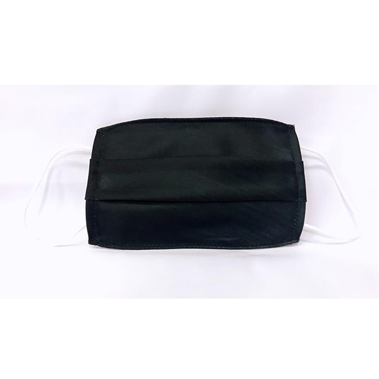 Cover-U金屬紋黑款兒童口罩套