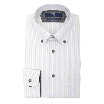 ボタンダウンスタイリッシュワイシャツ《ライクラT400ファイバー》