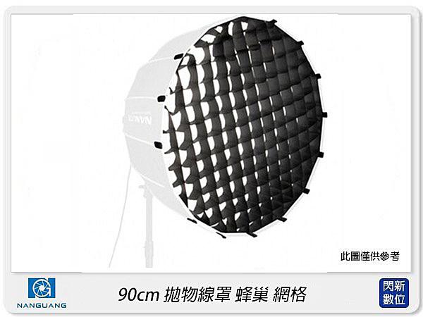 Nanguang 南冠/南光 Forza 90cm 蜂巢 網格 For 90cm 拋物線罩 柔光罩 柔光箱(公司貨)