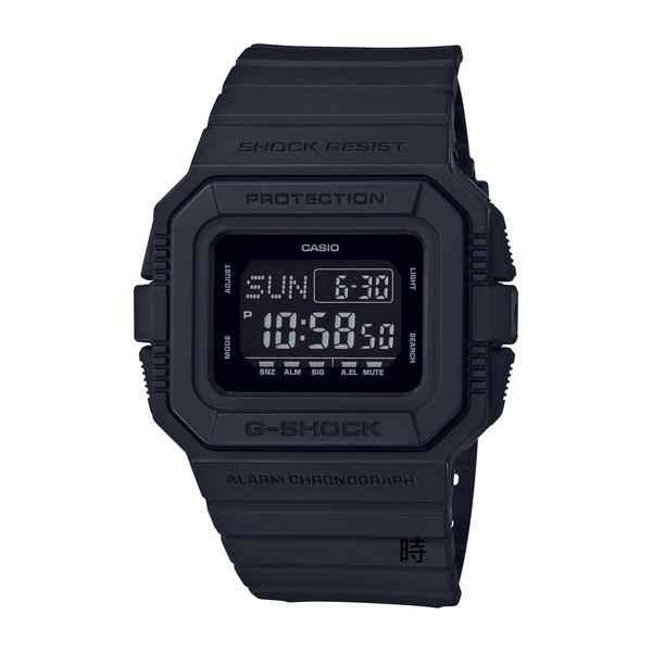 CASIO 卡西歐 G-SHOCK 經典手錶 (DW-D5500BB-1DR) 黑/46.2mm