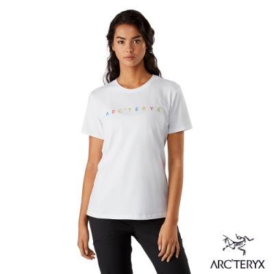 Arcteryx 始祖鳥 女 24系列 Chromatic 有機棉 短袖 休閒Tee 白