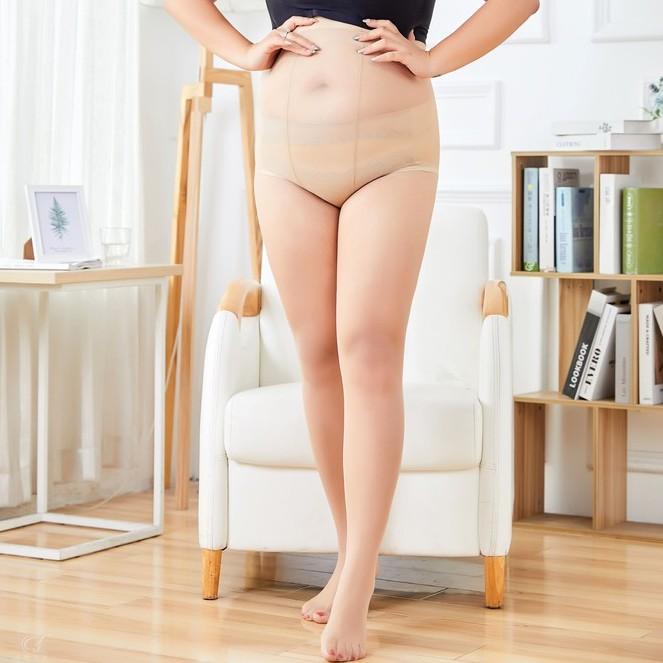 大尺碼 100公斤 網紅菠蘿襪 胖瘦皆可穿 天鵝絨任意剪絲襪 加大加肥 絲襪 連褲襪 C251 天使衣裳旗艦店h310