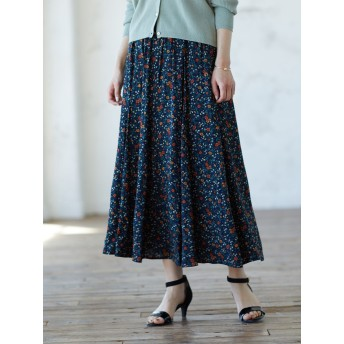 【6,000円(税込)以上のお買物で全国送料無料。】綺麗フレアスカート
