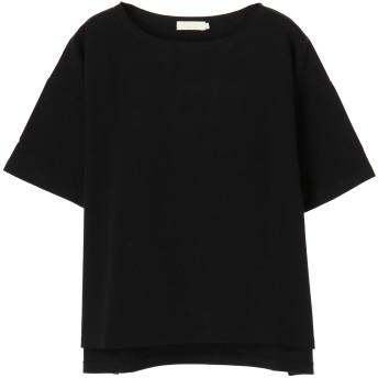 【6,000円(税込)以上のお買物で全国送料無料。】ボートネック半袖プルオーバー