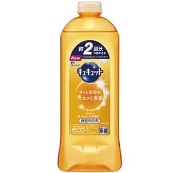 (まとめ)花王 キュキュット オレンジの香りつめかえ用 385ml 1本【×20セット】