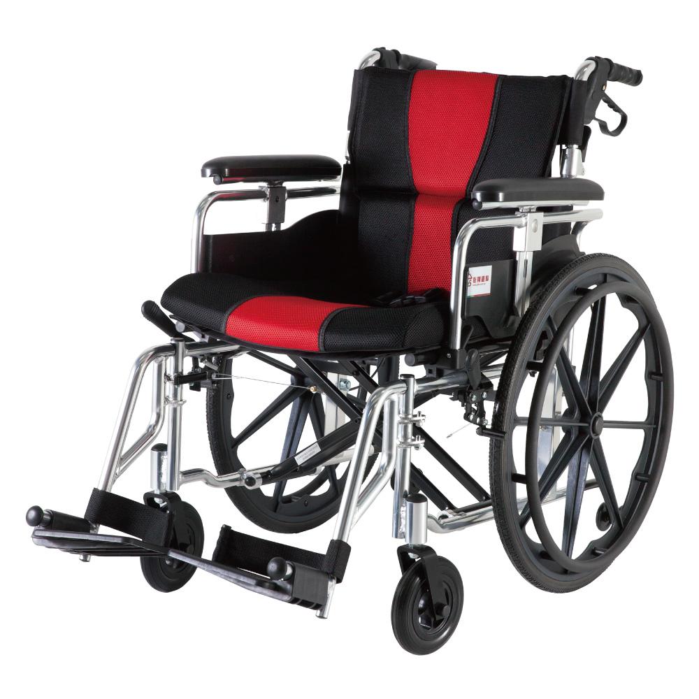 必翔銀髮 座得住移位手動輪椅 PH-183KB