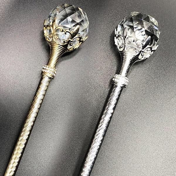 魔法棒 水晶球玩具魔法棒權杖國王手杖兒童公主仙女舞臺道具小女孩表演出 寶貝計畫