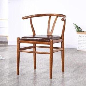 太師椅 鐵藝太師椅肯尼迪扶手椅新中式餐椅靠背圍椅家用北歐餐廳桌椅T 4色