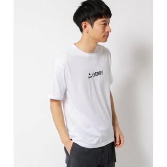 THE SHOP TK(Men)(ザ ショップ ティーケー(メンズ)) GERRY/ジェリー 別注 ロゴプリント半袖Tシャツ/ユニセックスでオススメ!!
