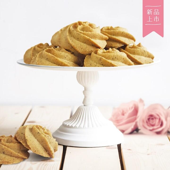 歐詩太糖法式手工曲奇餅-玫瑰伯爵年節送禮彌月禮喜餅伴娘禮探房禮