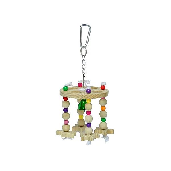 寵物家族-Sanko鳥木串玩具 風鈴型 #875