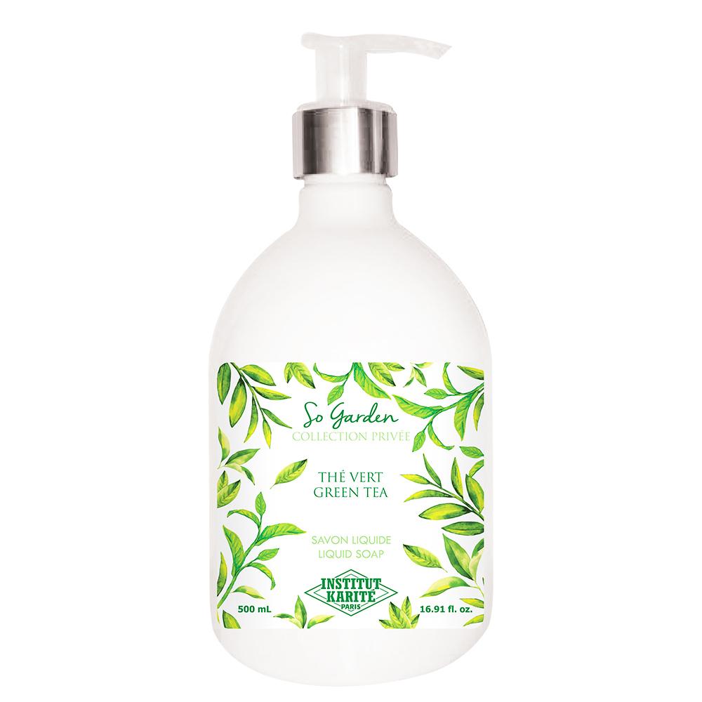 Institut Karite Paris 巴黎乳油木 綠茶花園香氛液體皂(500ml)