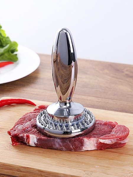 雙面可拆式重型牛排松肉錘壓肉器家用斷筋嫩肉針豬扒雞肉敲肉錘子