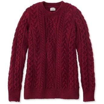 1912 へリテージ・アイリッシュ・フィッシャーマン・セーター、クルーネック/1912 Heritage Irish Fisherman Sweater, Crewneck