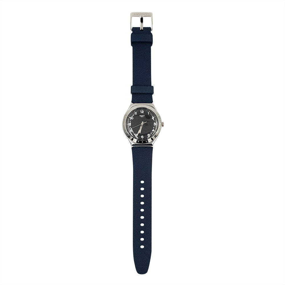 Swatch INKWELL 腕錶 手錶 藍 YWS102
