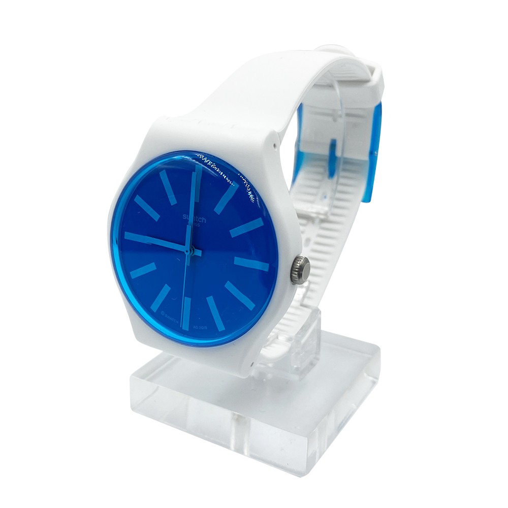 Swatch GLACEON 腕錶 手錶 藍 SUOW163