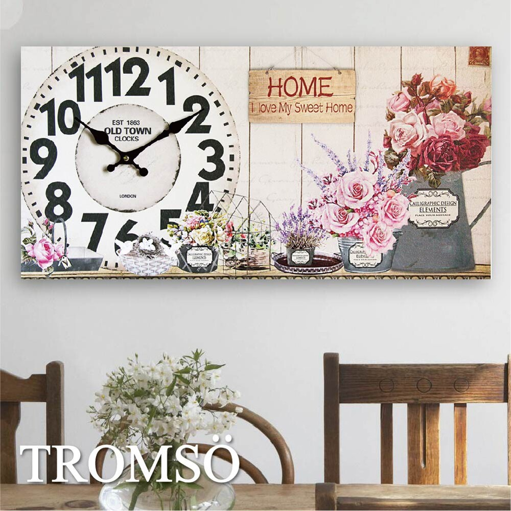 tromso無框畫時鐘-多款任選 / 悠閒 可愛 擺飾 復古 百搭