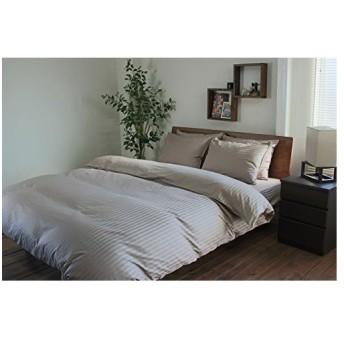 シングルサイズ 超長綿掛け布団カバー+ボックスシーツ+ピロケース 3点セット ベッド用 日本製 60サテン 綿100%
