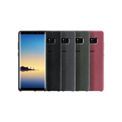 SAMSUNG 三星 Galaxy Note8 原廠Alcantara 義大利麂皮背蓋 盒裝