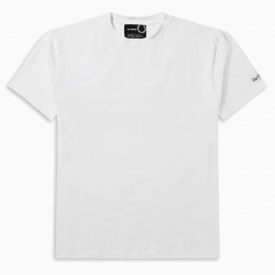 Fred Perry Raf Simons white yoke print t-shirt