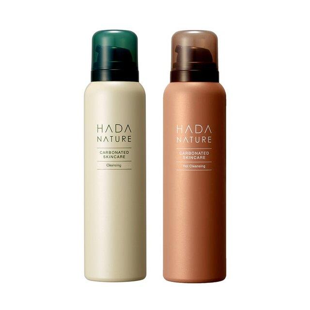 Hada Nature肌純 碳酸洗卸泡泡(極淨溫和、極淨沁亮)(95g) 【優.日常】