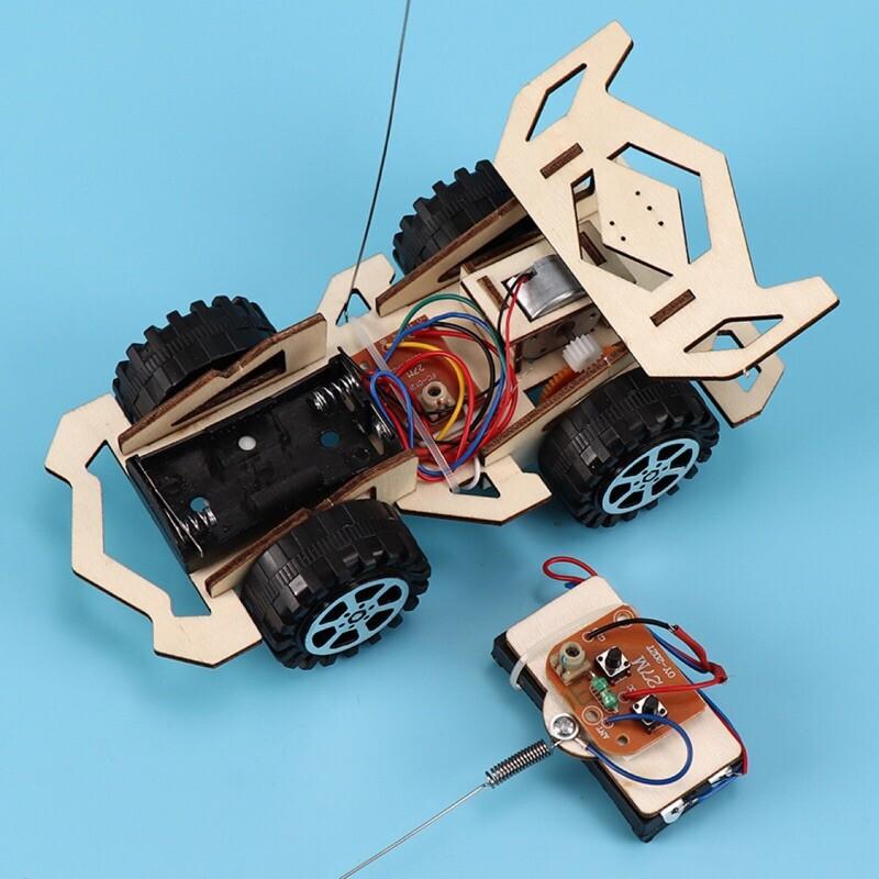 <現貨免等>科學實驗系列diy組裝遙控賽車四驅車組裝包