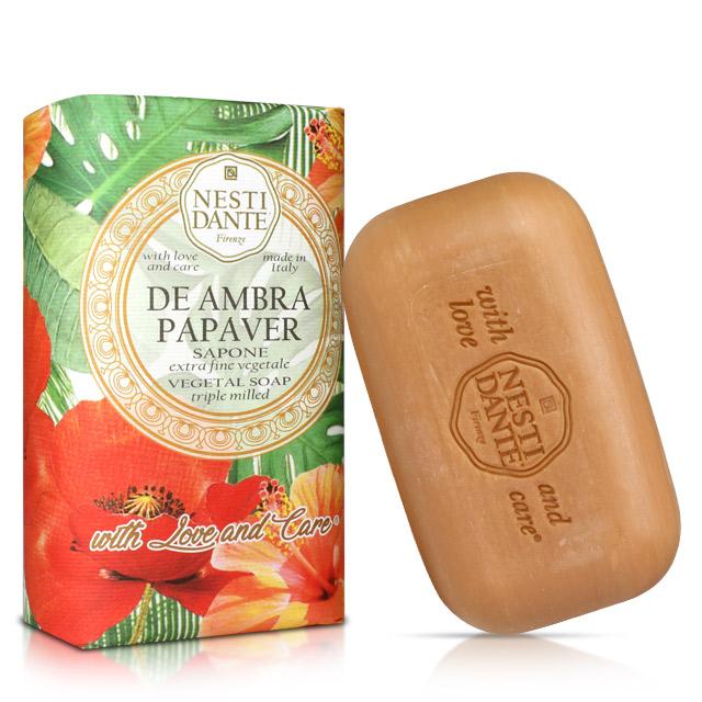 Nesti Dante 義大利手工皂 自然花萃系列 N° 9紅罌粟皂 250g