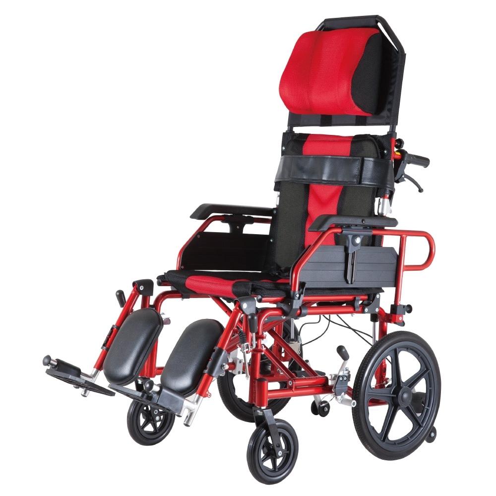 必翔銀髮 高背躺式看護輪椅 PH-185B