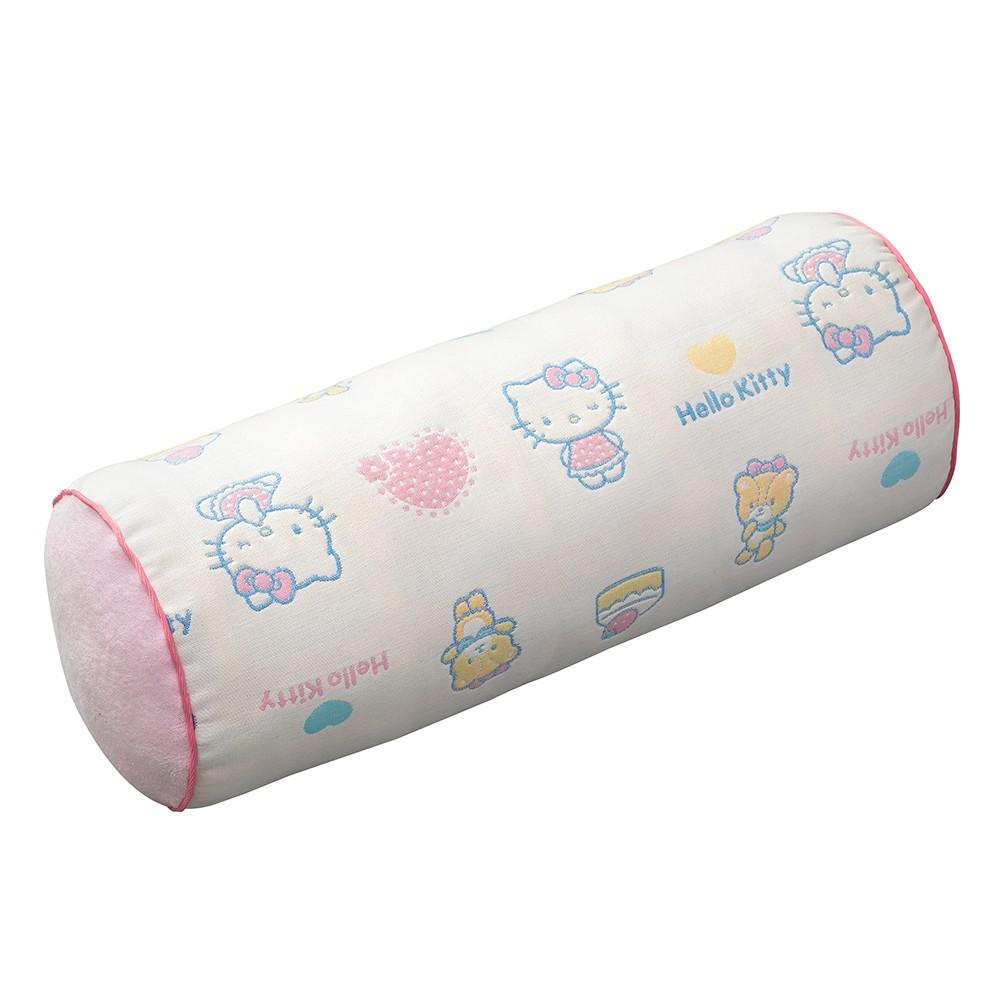 HELLO KITTY K77656 凱蒂貓六層紗圓筒枕