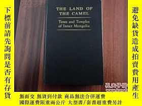 二手書博民逛書店罕見1951年-英文版《內蒙古的帳篷、寺廟、駱駝的土地》40幅珍