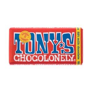 荷蘭Tony's Chocolonely牛奶巧克力180g