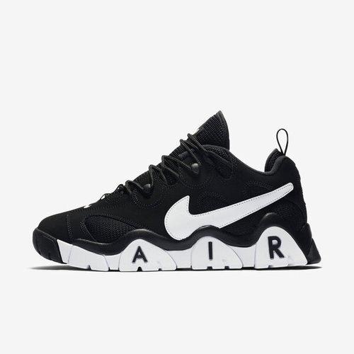 Nike Air Barrage Low [CD7510-001] 男鞋 運動 休閒 籃球 穿搭 潮流 緩震 舒適 黑白