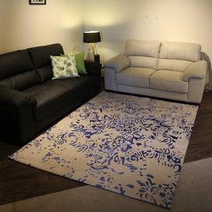 【山德力】親膚厚實 暖心 紐西蘭羊毛地毯-水漾 200x300cm