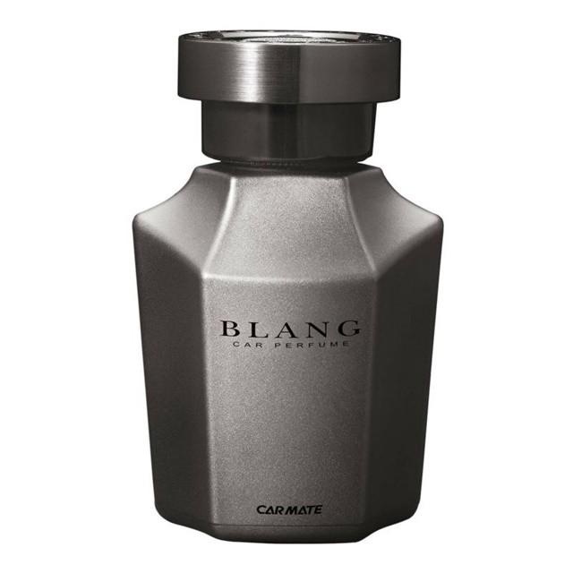 日本CARMATE BLANG 科技銀色塗裝瓶身大容量液體香水消臭芳香劑 L861
