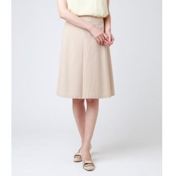 【ニューヨーカー/NEWYORKER】 【ウォッシャブル】ポリコットンシャンブレー Aラインスカート