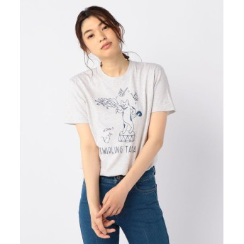 【10%OFF】 フレディアンドグロスター TWIRLING TAMA Tシャツ レディース エクリュ S 【FREDY & GLOSTER】 【タイムセール開催中】
