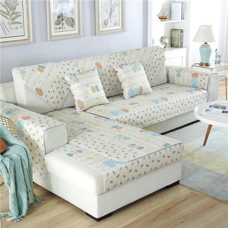 精品夯貨~沙發套 布沙發防滑九件套代全沙發巾四季通用沙發罩坐