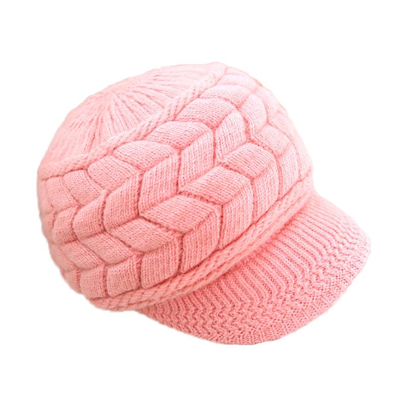 韓版保暖毛線帽 針織帽 毛線帽 可愛絨線保暖帽 秋冬保暖 4色