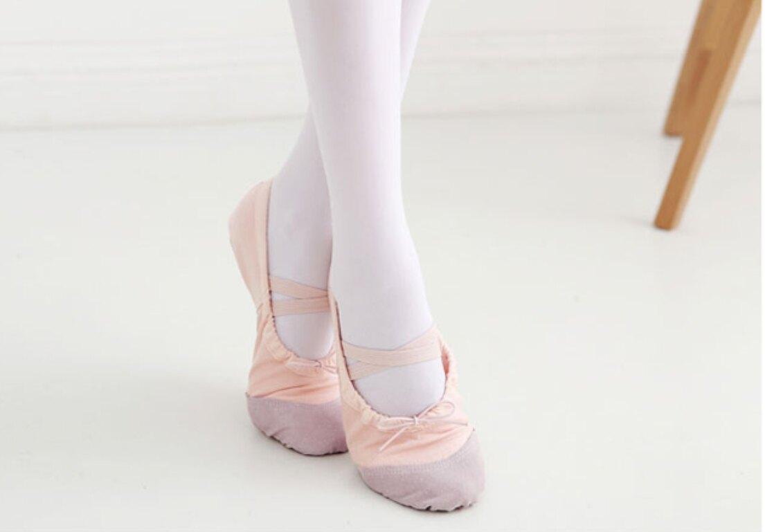 真皮鞋底 兒童 芭蕾舞鞋 小碼 專業舞鞋 表演 跳舞 芭蕾舞 舞蹈班 芭蕾 橘魔法 現貨【p0061205082328】