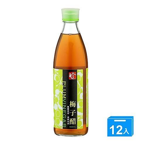 百家珍梅子醋600ml*12【愛買】