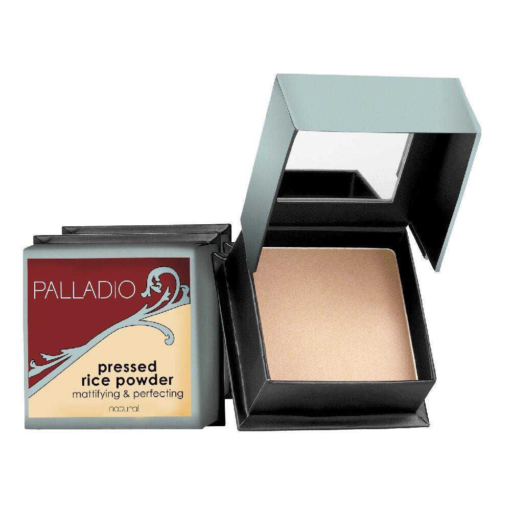 PALLADIO大米控油蜜粉餅/大米柔焦妝前乳