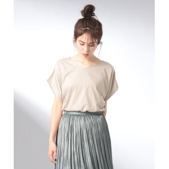【大ヒット商品】【UVケア・接触冷感】Tブラウス Tシャツ