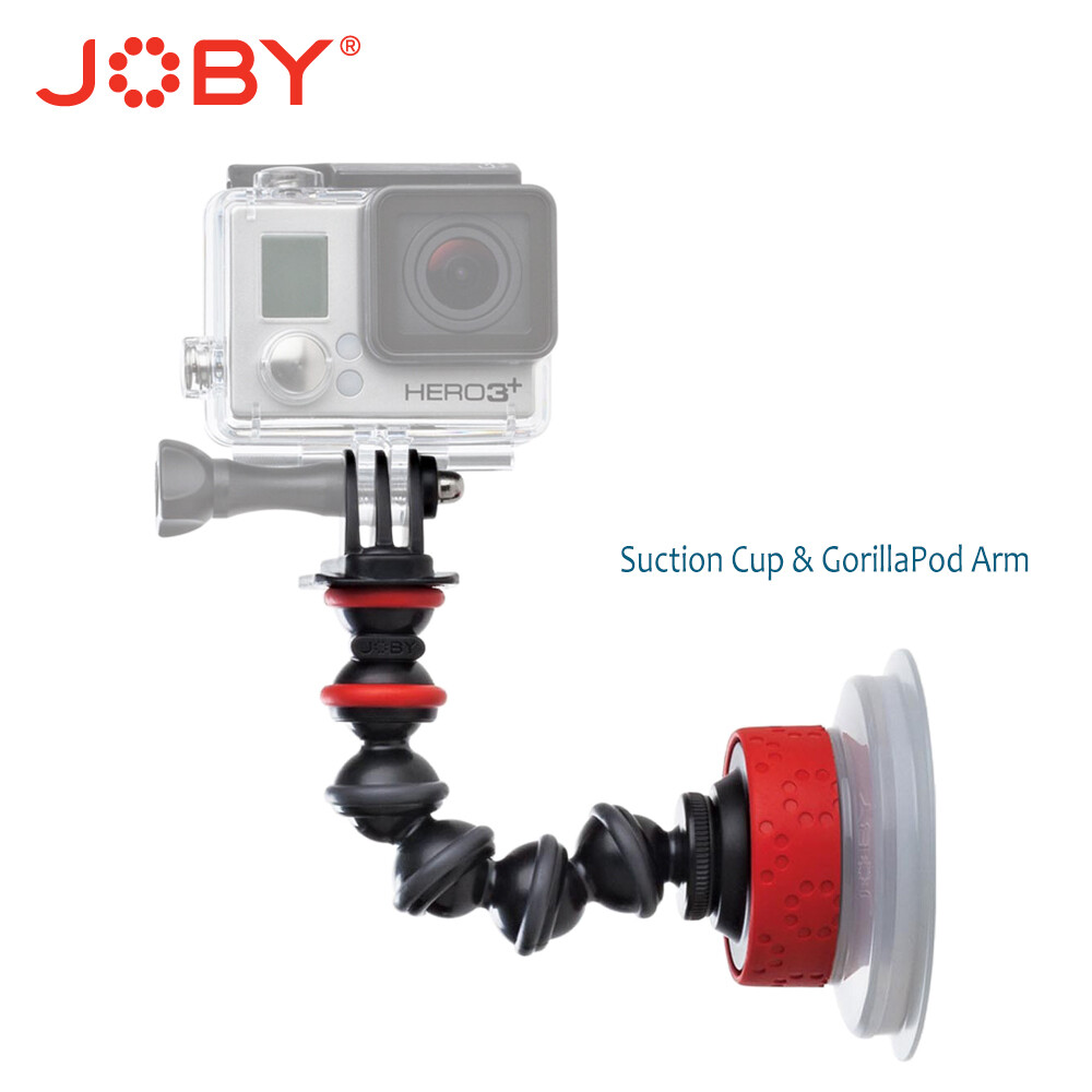 joby jb38 強力吸盤金剛爪臂 suction cup & gorillapod arm
