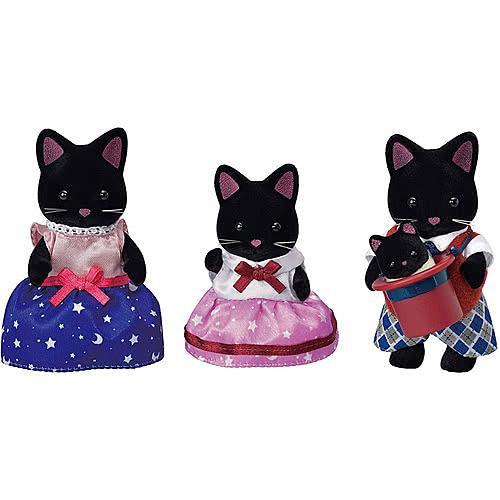 《 森林家族 》夜空貓家庭組 / JOYBUS玩具百貨