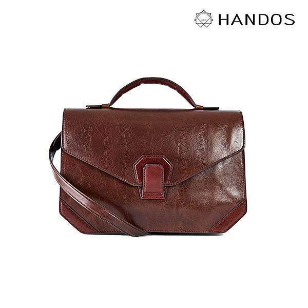 HANDOS|Acordeón 三折風琴肩背包 - 復古咖