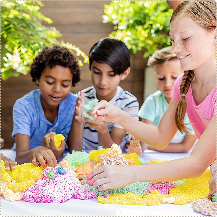 【品牌指定商品任選2件$315】美國 Educational Insights 魔塑粒粒黏土-野生動物(隨機/每顆含一隻娃娃)