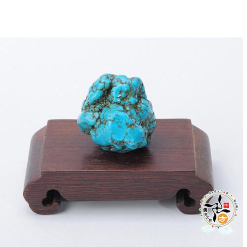 綠松石原礦(32g)十方佛教文物