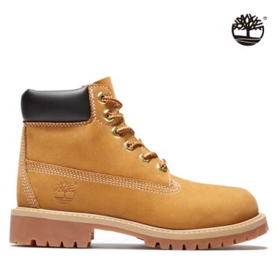 Timberland 童款小麥黃經典防水6吋靴|12909